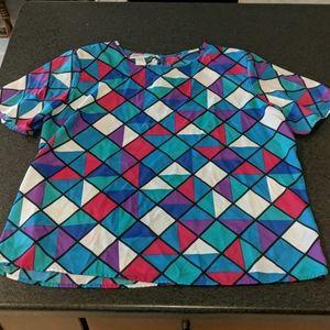Tops - Vintage Kathi Lee blouse